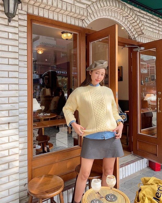 Áo len vặn thừng bỏ bùa gái Hàn đến gái Pháp: Thị phạm ngay 14 set đồ cực xịn cho các nàng - Ảnh 8.