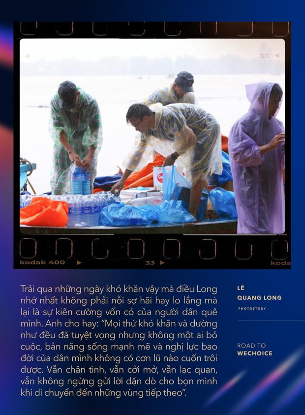 """Chuyện về nhiếp ảnh gia 9X cứu trợ bà con mùa lũ: """"Trong từng cơn tuyệt vọng, người miền Trung đều cố thoát ra để vươn tới những ngày mới tốt đẹp hơn"""" - Ảnh 6."""