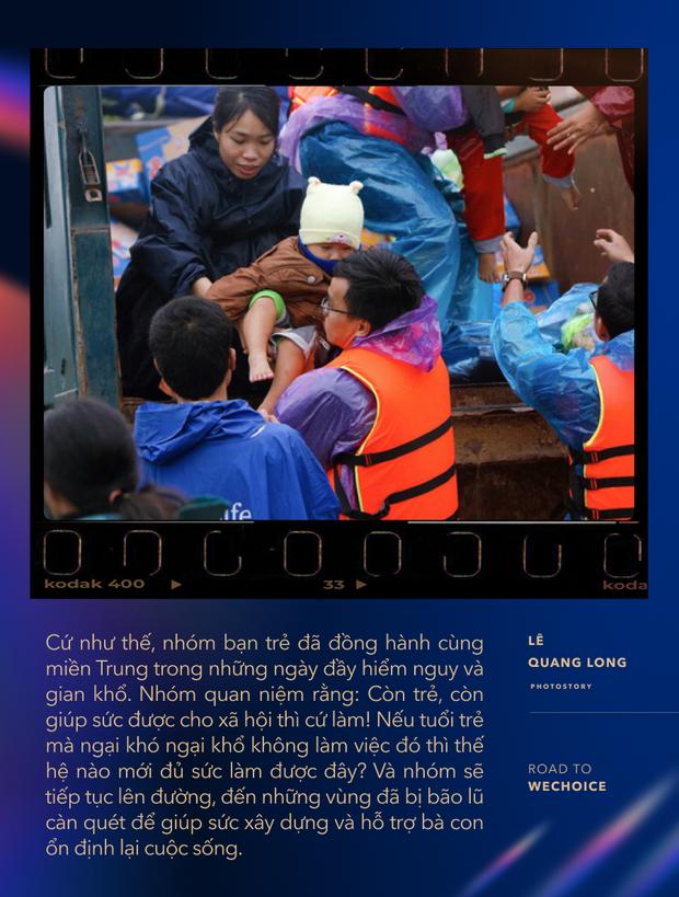 """Chuyện về nhiếp ảnh gia 9X cứu trợ bà con mùa lũ: """"Trong từng cơn tuyệt vọng, người miền Trung đều cố thoát ra để vươn tới những ngày mới tốt đẹp hơn"""" - Ảnh 8."""