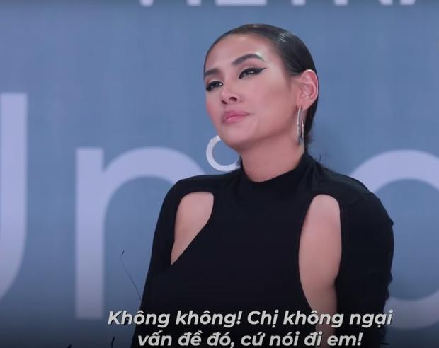 Vietnams Next Top Model: Bị thí sinh gọi nhầm tên thành Hương Giang, phản ứng của Võ Hoàng Yến gây chú ý - Ảnh 3.