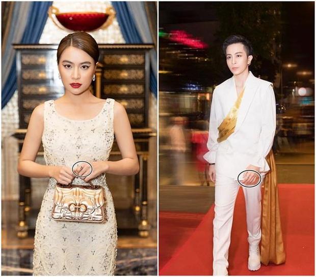 Gil Lê dẫn Hoàng Thuỳ Linh ra mắt hội bạn thân, nhưng netizen lại chỉ chú ý tới cặp nhẫn na ná nhau trên tay cả 2 - Ảnh 4.