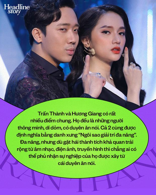 Trấn Thành, Hương Giang và bẫy nguy hiểm của những ngôi sao hoạt ngôn trên sóng truyền hình - Ảnh 2.
