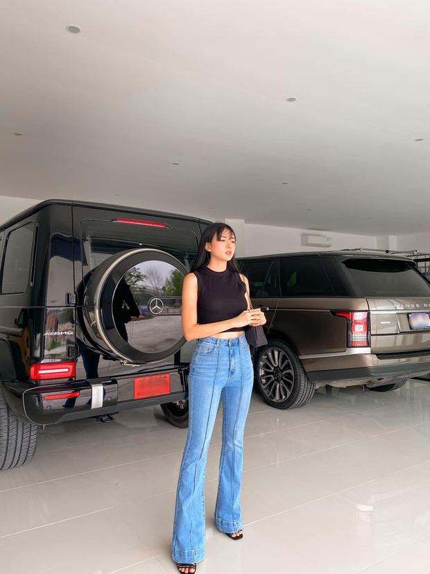 Biệt thự siêu sang của gái đẹp lấy đại gia Thái Lan: Góc nào cũng như resort cao cấp, đứng vu vơ ở nhà xe vẫn ra lò ảnh sống ảo - Ảnh 6.