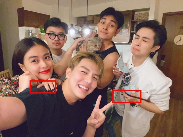 Gil Lê dẫn Hoàng Thuỳ Linh ra mắt hội bạn thân, nhưng netizen lại chỉ chú ý tới cặp nhẫn na ná nhau trên tay cả 2 - Ảnh 2.