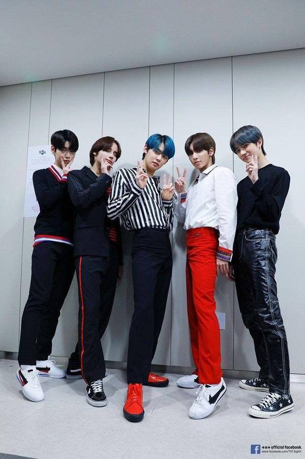 Nhóm nhạc em trai BTS gây sốt với tỷ lệ cơ thể cực đỉnh, toàn chân phái đúng nghĩa khiến dân mạng phát cuồng - Ảnh 4.