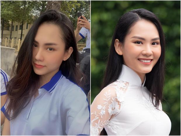 Đọ ảnh selfie vs khi đi thi của thí sinh Hoa hậu Việt Nam, nhan sắc liệu có giống trên mạng?  - Ảnh 5.