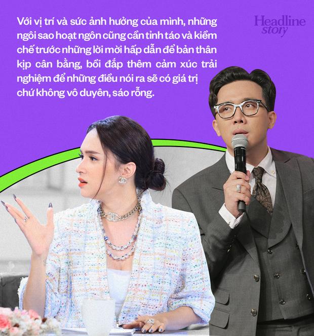 Trấn Thành, Hương Giang và bẫy nguy hiểm của những ngôi sao hoạt ngôn trên sóng truyền hình - Ảnh 14.
