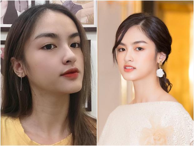 Đọ ảnh selfie vs khi đi thi của thí sinh Hoa hậu Việt Nam, nhan sắc liệu có giống trên mạng?  - Ảnh 3.