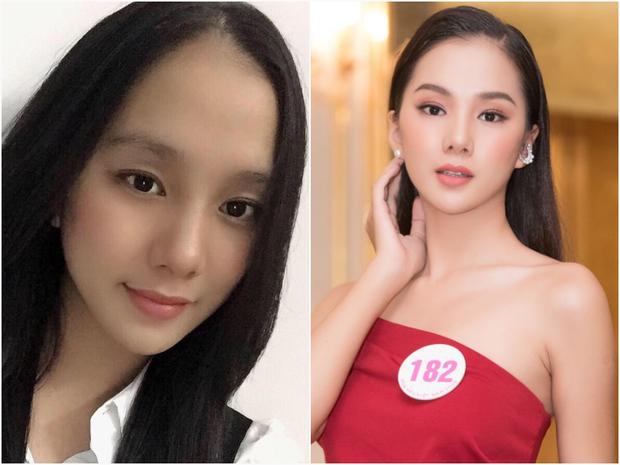 Đọ ảnh selfie vs khi đi thi của thí sinh Hoa hậu Việt Nam, nhan sắc liệu có giống trên mạng?  - Ảnh 15.