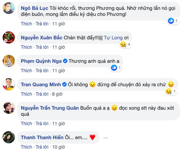 Ca sĩ Tuấn Phương lâm vào tình trạng nguy kịch, cơ thể không còn phản ứng với thuốc và thức ăn  - Ảnh 3.