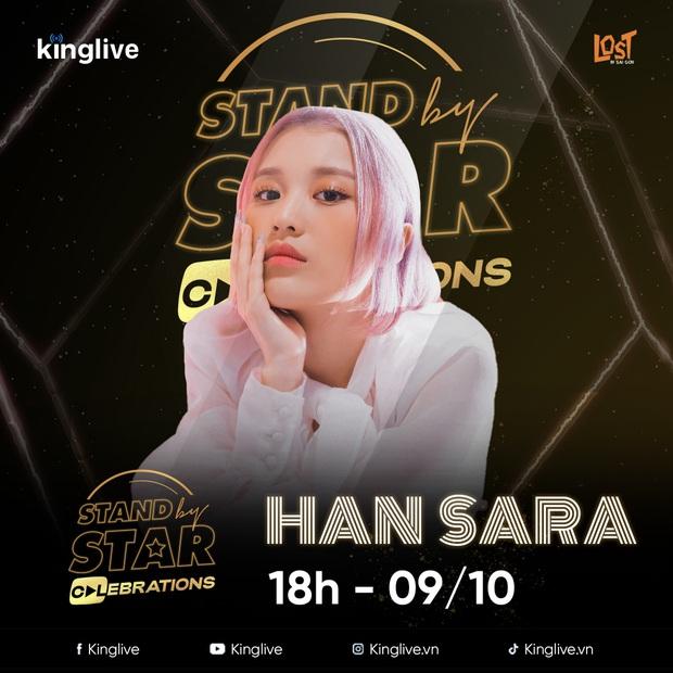 Stand By Star công bố line-up đông khủng với gần 30 nghệ sĩ, liệu dàn thí sinh Rap Việt và King Of Rap sẽ có màn battle? - Ảnh 8.