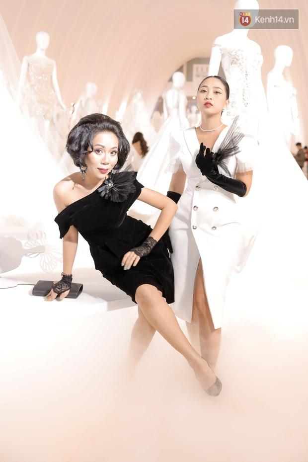 """Thảm đỏ cực gắt tối nay: Hot girl """"trứng rán cần mỡ"""" như cô dâu, Lynk Lee diện váy xuyên thấu xẻ sâu hiểm hóc - Ảnh 11."""