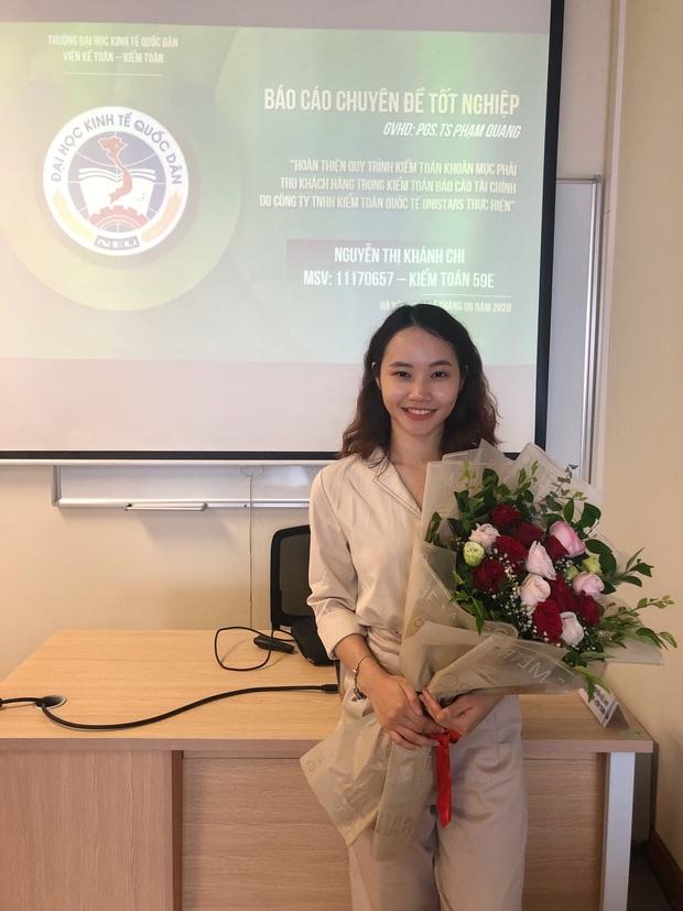 Tân cử nhân Kiểm toán duy nhất của ĐH Kinh tế Quốc dân tốt nghiệp thần tốc sau 3 năm, vừa nhận bằng Giỏi vừa là Đảng viên - Ảnh 3.