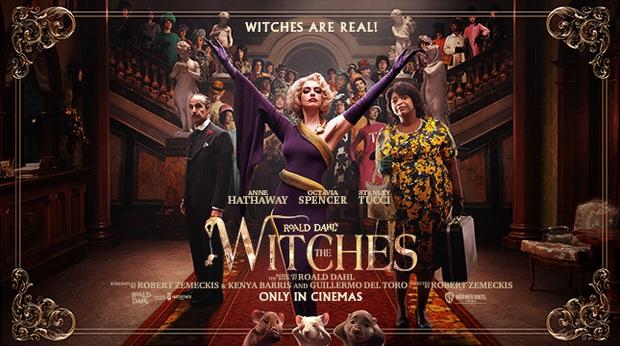 Ngắm phù thuỷ chanh sả Anne Hathaway hô biến con nít thành chuột nhí ở trailer The Witches, xem vừa hài vừa sợ á! - Ảnh 11.