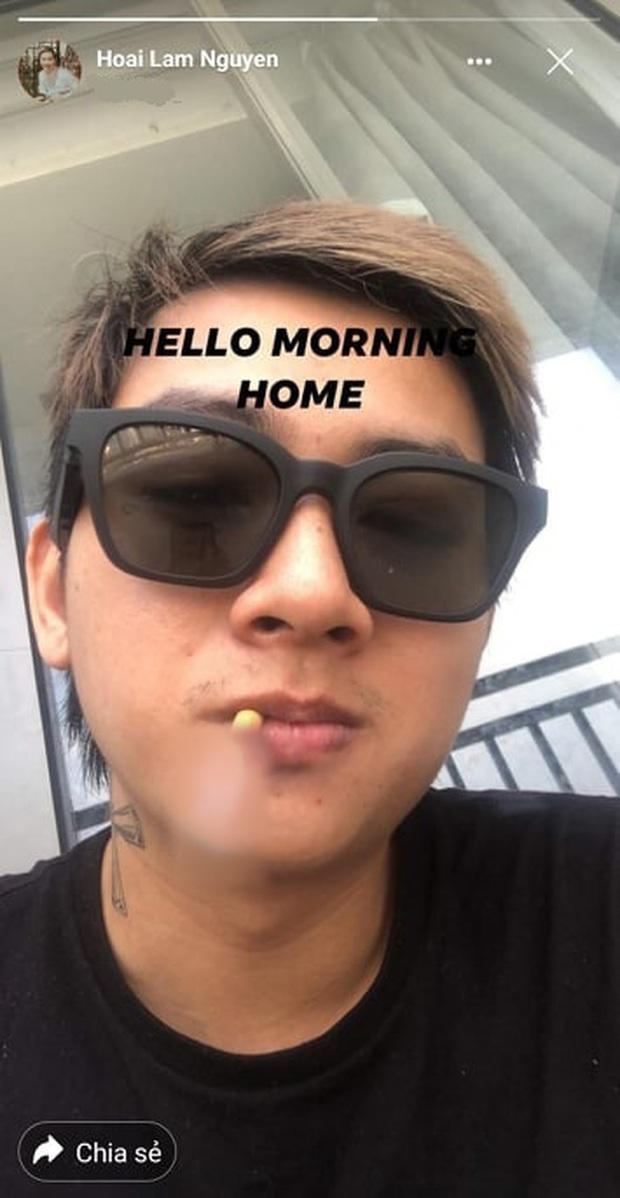 Lâu lắm mới lộ diện, Hoài Lâm gây xôn xao MXH với hình ảnh phì phèo thuốc lá, nhả khói phản cảm ngay trên livestream - Ảnh 4.