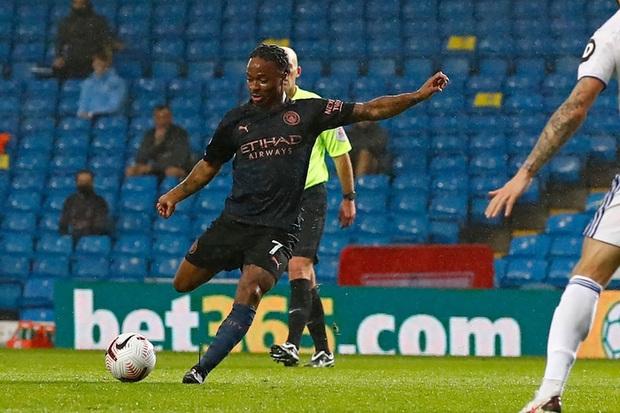 Hàng thủ tiếp tục mắc lỗi, ông lớn Man City hòa thất vọng trước tân binh Leeds - Ảnh 3.