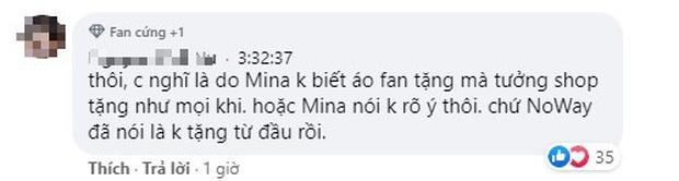 Mina Young mặc áo đôi do fan tặng Cara - NoWay nhưng lại nói là áo hãng tặng, cộng đồng tranh cãi nảy lửa - Ảnh 4.