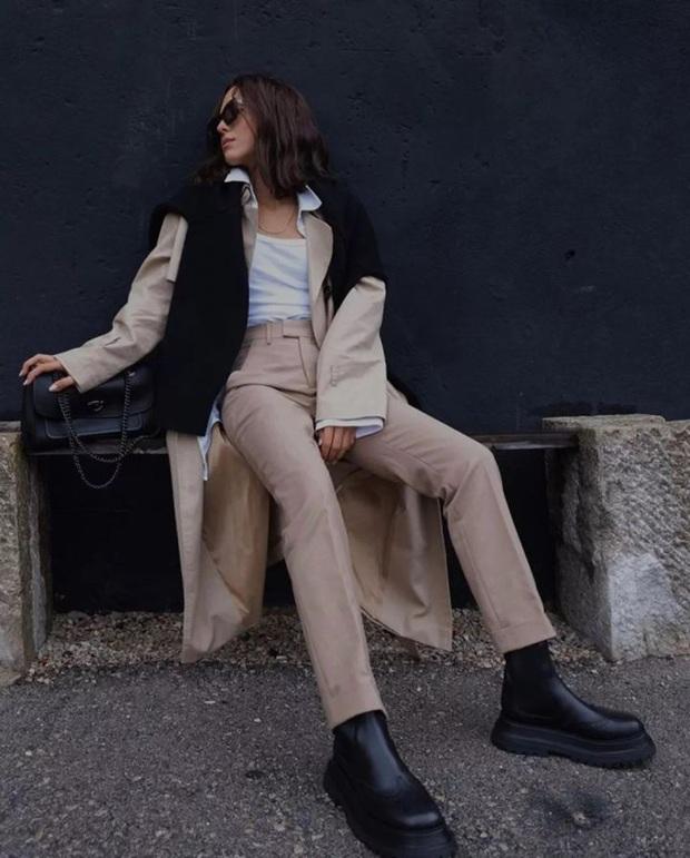 Nàng blogger chỉ cao 1m55 vẫn mặc đẹp và sang quá, đồng nghiệp khen tới tấp lại còn thi nhau copy theo - Ảnh 7.