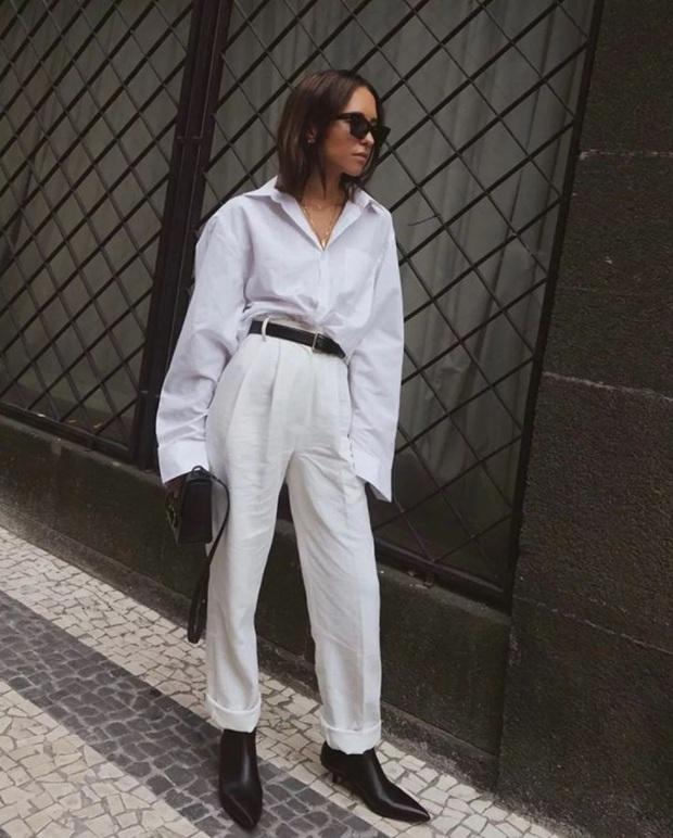 Nàng blogger chỉ cao 1m55 vẫn mặc đẹp và sang quá, đồng nghiệp khen tới tấp lại còn thi nhau copy theo - Ảnh 9.