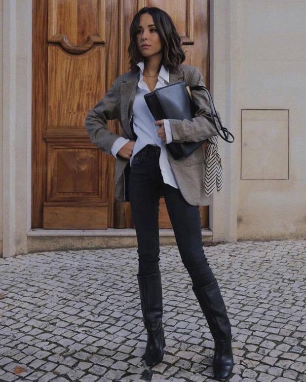 Nàng blogger chỉ cao 1m55 vẫn mặc đẹp và sang quá, đồng nghiệp khen tới tấp lại còn thi nhau copy theo - Ảnh 10.
