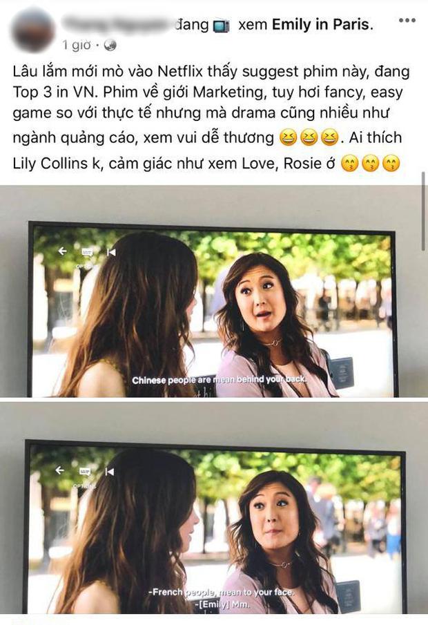 Fan Việt phát sốt cuối tuần với Emily Ở Paris: Lily Collins xinh đáo để giữa lòng nước Pháp, nội dung lại là điểm trừ lớn nhất? - Ảnh 5.