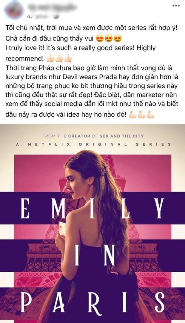 Fan Việt phát sốt cuối tuần với Emily Ở Paris: Lily Collins xinh đáo để giữa lòng nước Pháp, nội dung lại là điểm trừ lớn nhất? - Ảnh 6.
