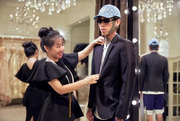 Khoảnh khắc hội ngộ gây sốt: Wowy (Rap Việt) gặp Lona (King Of Rap) và Hoa hậu Lương Thùy Linh, e ấp giữa cả bầu trời visual - Ảnh 5.