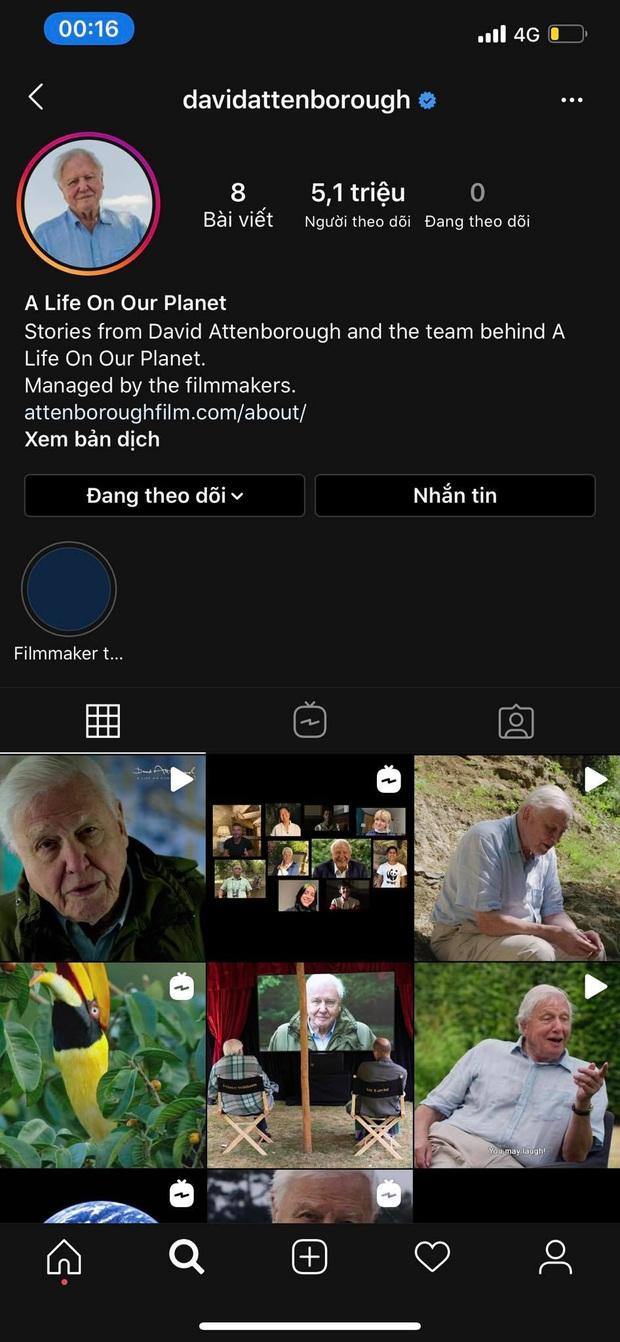 Chi Pu, Ngọc Trinh chật vật bao năm mới được 5 triệu follower trên Instagram, nhưng người đàn ông 94 tuổi này thì chỉ cần hơn 1 tuần - Ảnh 2.