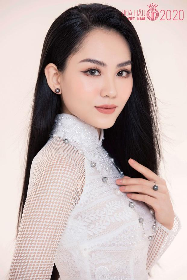 """Top 60 thí sinh Hoa hậu Việt Nam """"biến hình"""" trong bộ ảnh mới, khiến dân tình ngẩn ngơ khi diện áo dài khoe body đáng gờm - Ảnh 2."""