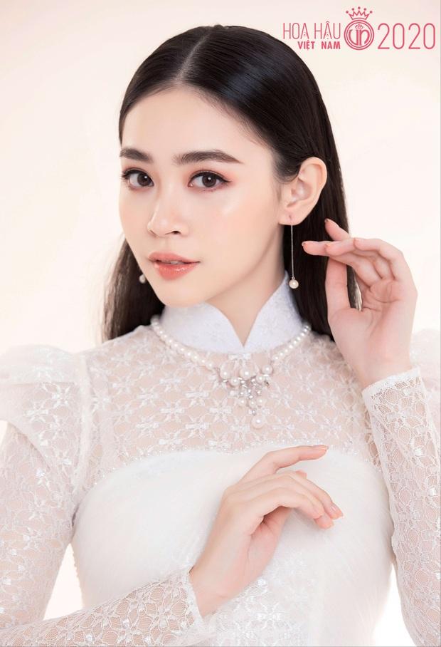 """Top 60 thí sinh Hoa hậu Việt Nam """"biến hình"""" trong bộ ảnh mới, khiến dân tình ngẩn ngơ khi diện áo dài khoe body đáng gờm - Ảnh 14."""