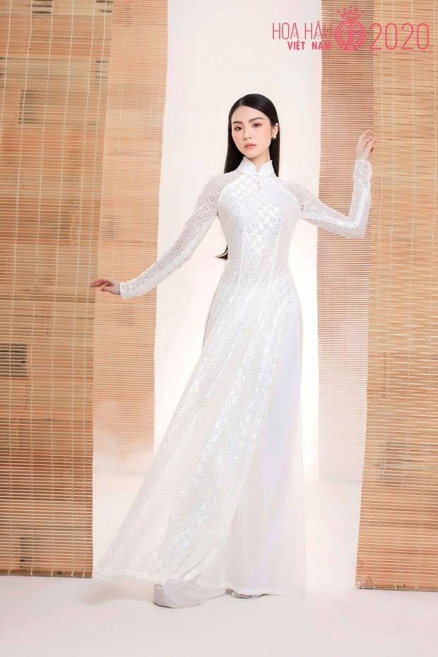 """Top 60 thí sinh Hoa hậu Việt Nam """"biến hình"""" trong bộ ảnh mới, khiến dân tình ngẩn ngơ khi diện áo dài khoe body đáng gờm - Ảnh 7."""