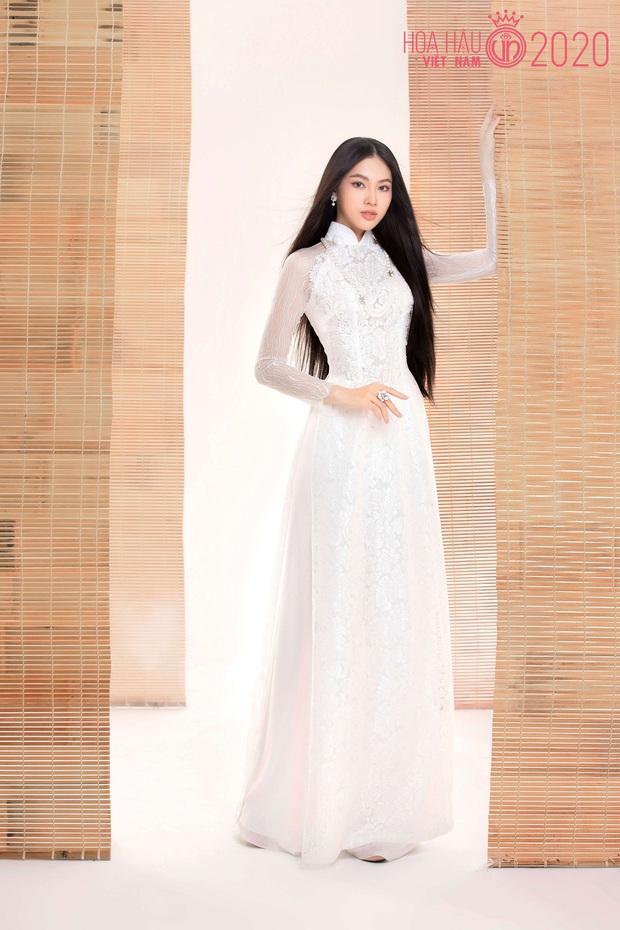"""Top 60 thí sinh Hoa hậu Việt Nam """"biến hình"""" trong bộ ảnh mới, khiến dân tình ngẩn ngơ khi diện áo dài khoe body đáng gờm - Ảnh 4."""