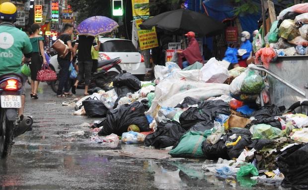 Hà Nội: Xuất hiện nhiều bãi rác lớn, bốc mùi hôi thối - Ảnh 3.