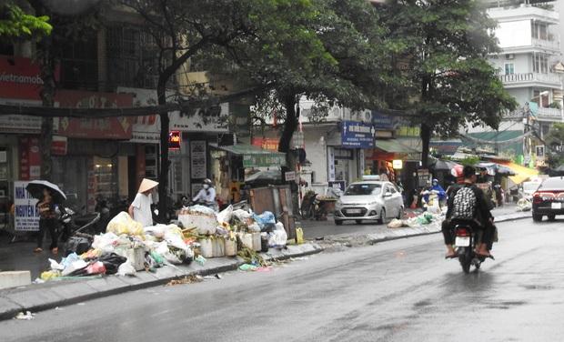 Hà Nội: Xuất hiện nhiều bãi rác lớn, bốc mùi hôi thối - Ảnh 4.