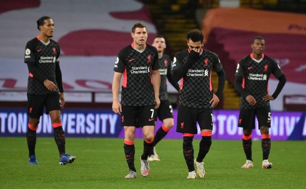 Liverpool lập kỷ lục tồi tệ chưa từng có trong lịch sử Ngoại hạng Anh - Ảnh 1.