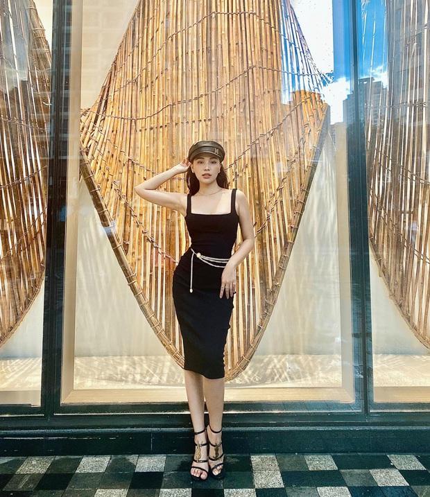 Quỳnh Thư diện chiếc váy hiểm hóc nhất lịch sử Vbiz: Gây nhức mắt không kém Ngọc Trinh tại Cannes năm nào - Ảnh 9.