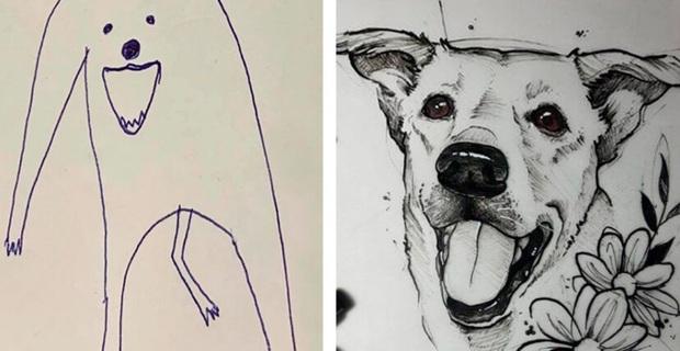 Bức tranh cún ngáo bất ngờ đánh bại mọi đối thủ nặng kí, giật giải quán quân trong cuộc thi vẽ chó - Ảnh 2.