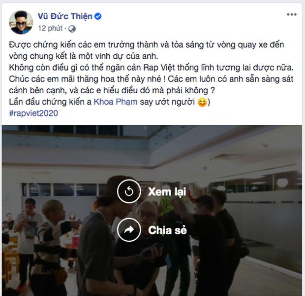 Trong lúc Rhymastic chứng kiến Karik say ướt người tại buổi quẩy tập thể của Rap Việt thì JustaTee tâm bất biến chỉ ăn là giỏi - Ảnh 1.