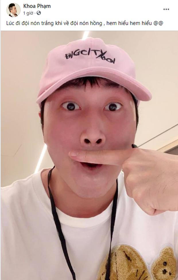 Team Binz bất ngờ đón chào thành viên thứ 10: Karik đội mũ Bigcityboi, làm mặt cute, bình luận như fanboy chính hiệu! - Ảnh 1.