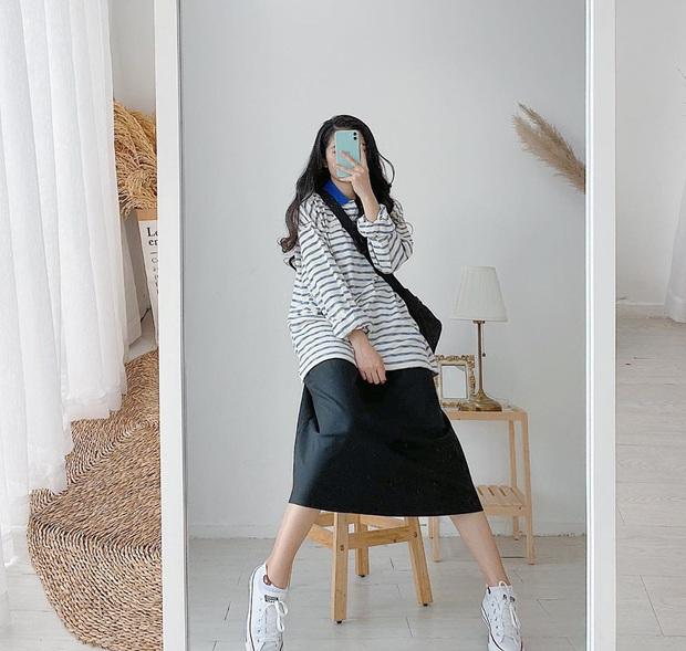Trời trở gió, tăm tia sắm ngay áo dài tay và cách mix đồ ổn áp để có style đơn giản mà nịnh mắt  - Ảnh 7.