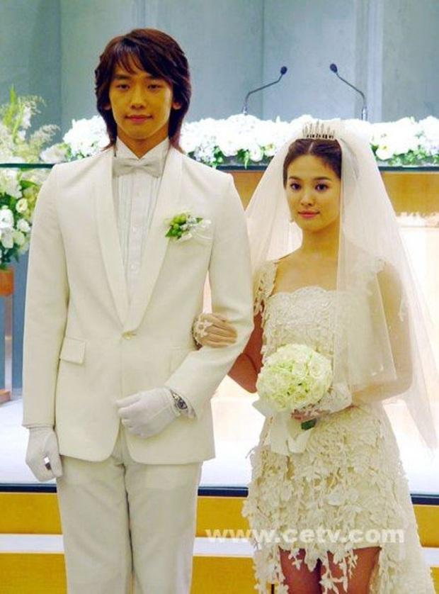 Lối rẽ tréo ngoe 4 cặp đôi màn ảnh huyền thoại: Vô duyên ở đời thực, Bi Rain - Song Hye Kyo và couple của Dương Mịch mập mờ - Ảnh 2.