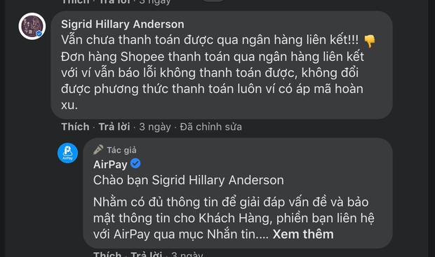 AirPay liên tục gặp sự cố thanh toán, hoàn tiền - Ảnh 5.