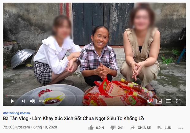 """Giữa lùm xùm Hưng Vlog quay clip ăn trộm tiền, kênh Bà Tân Vlog bỗng có động thái rất """"bình thản"""" - Ảnh 2."""