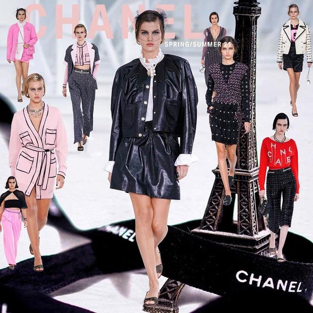 Không bày vẽ runway hoành tráng như sân bay hay trạm tên lửa, Chanel làm show Xuân/Hè 2021 đơn giản bất ngờ - Ảnh 1.