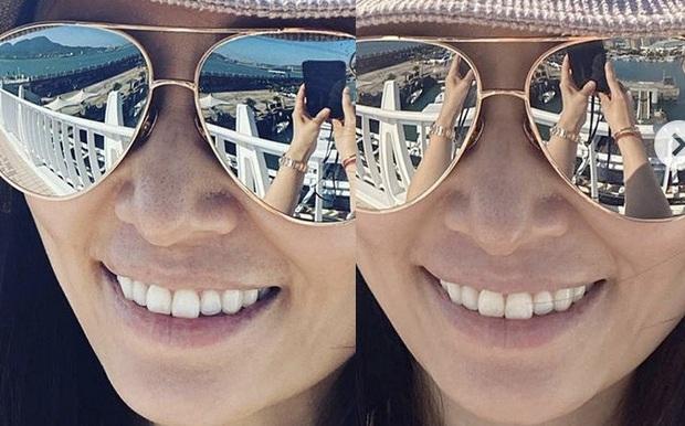 Lâm Tâm Như hiếm hoi khoe ảnh selfie với Hoắc Kiến Hoa, ai dè lộ mặt mộc bóc mẽ cánh mũi sần sùi gây xôn xao - Ảnh 5.