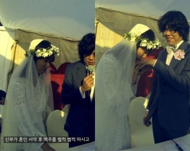Lee Hyori cuối cùng đã tung clip bên trong đám cưới bí mật 7 năm trước: Cô dâu tu bia sau khi thề nguyện, khóa môi cực tình - Ảnh 9.