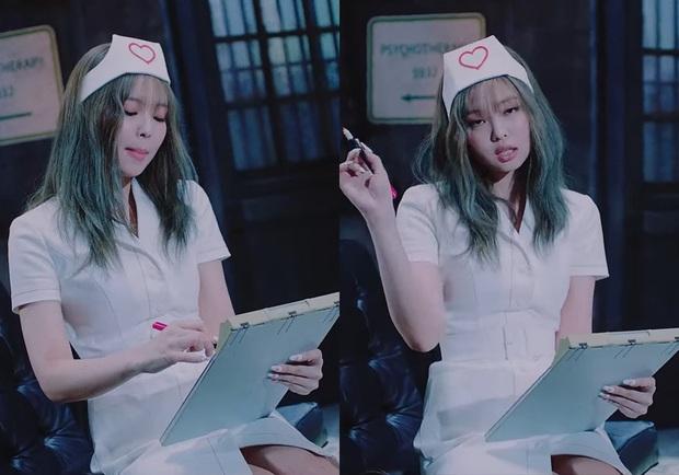 Jennie (BLACKPINK) gặp scandal lớn vì trang phục y tá trong Lovesick Girls, Lisa có status gây chú ý - Ảnh 3.