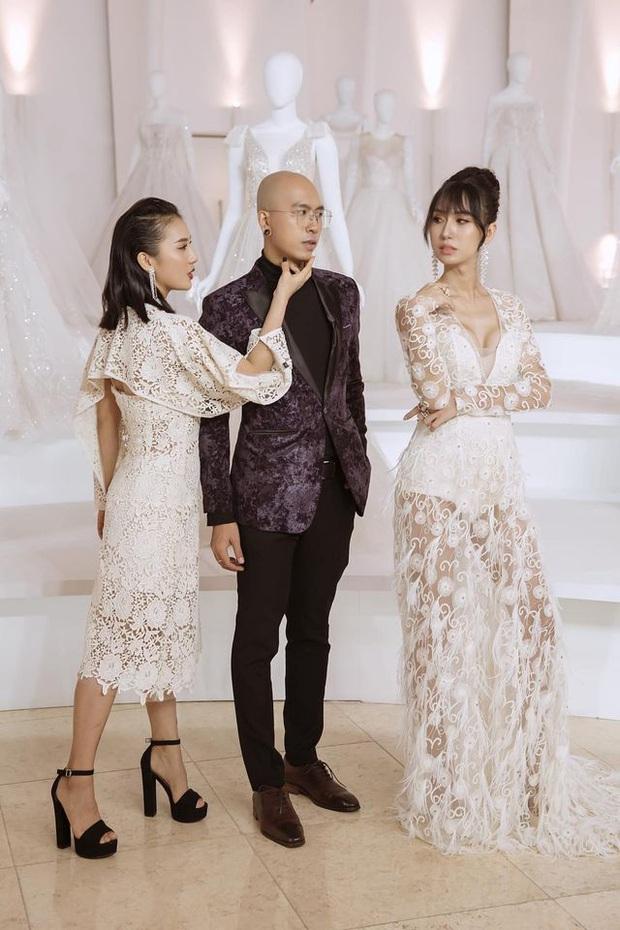Lynk Lee diện váy trắng duyên dáng như cô dâu, spotlight đổ dồn vào vòng 1 o ép căng đầy hậu chuyển giới - Ảnh 4.
