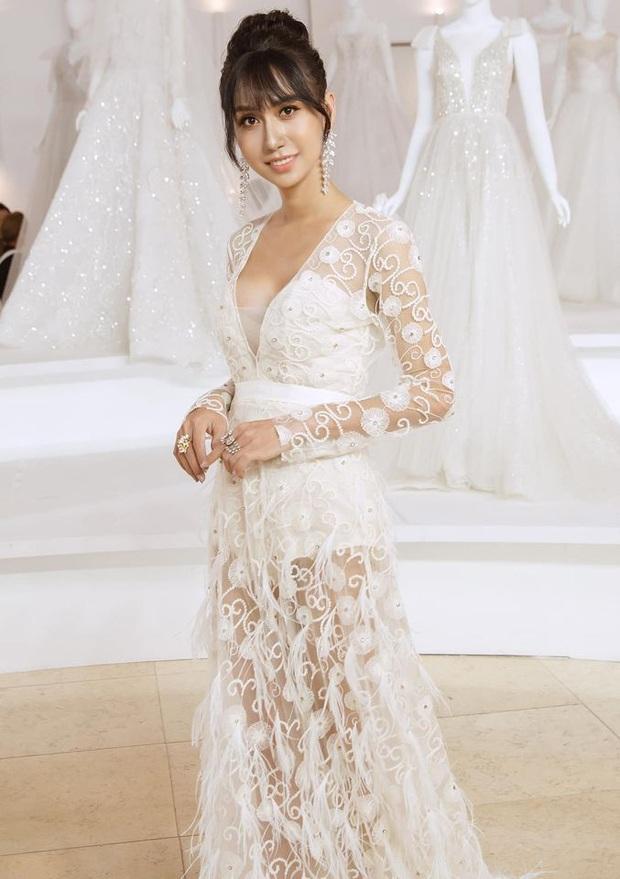 Lynk Lee diện váy trắng duyên dáng như cô dâu, spotlight đổ dồn vào vòng 1 o ép căng đầy hậu chuyển giới - Ảnh 2.