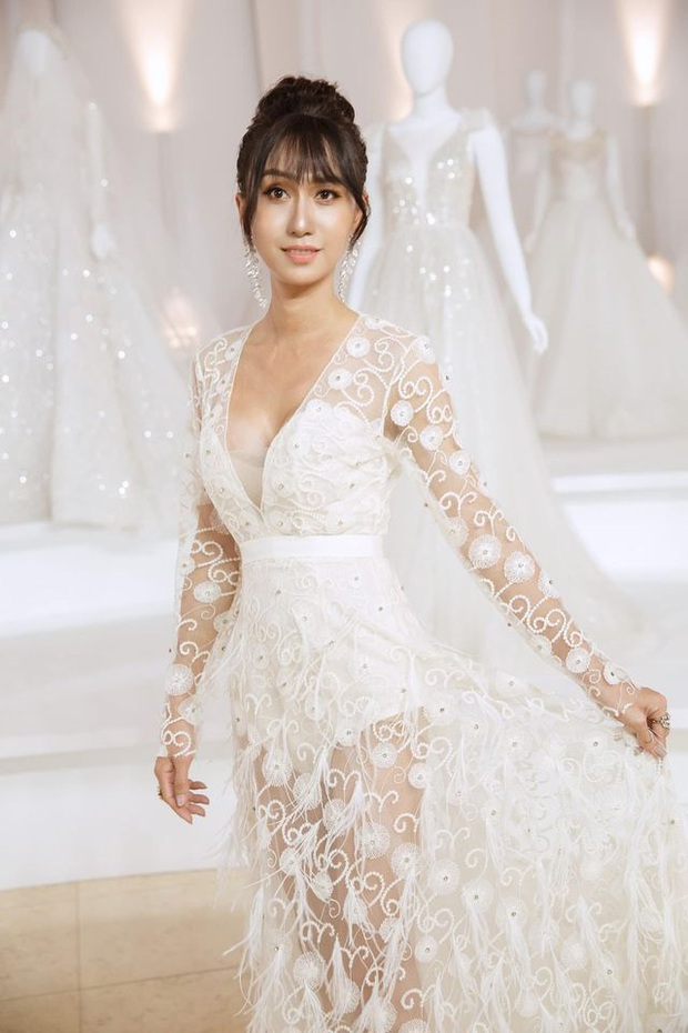 Lynk Lee diện váy trắng duyên dáng như cô dâu, spotlight đổ dồn vào vòng 1 o ép căng đầy hậu chuyển giới - Ảnh 6.